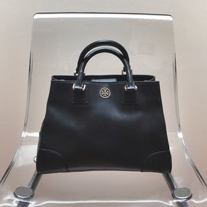 AUTHENTIC TORY BURCH Leather Satchel